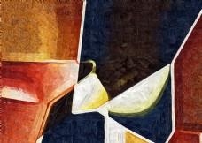 几何抽象艺术画