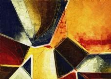 几何抽象画