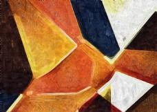 抽象几何装饰画