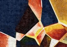 几何抽象装饰画