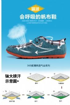 鞋子透气海报(无代码)