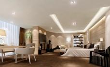 酒店客房模型下载