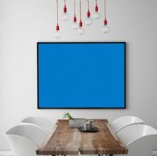 客厅装饰画贴图