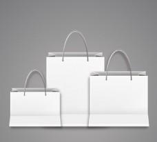 白色购物袋