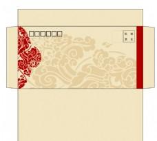 中国风信封