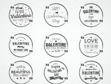 情人节标签