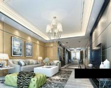 简单现代客厅