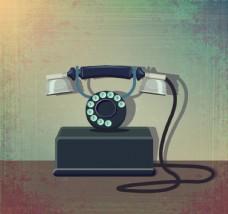 复古电话机