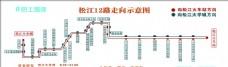公交站牌  公交路线图