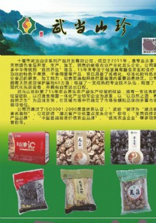 湖北十堰武当山珍食品开发公司