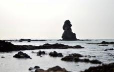 青岛石老人海礁石