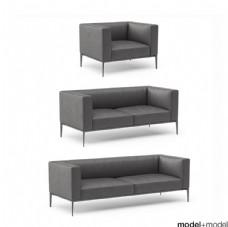 现代时尚沙发模型