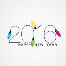 2016年彩色灯泡
