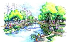 常州河景花园运河景观