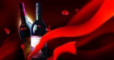 花瓣葡萄酒