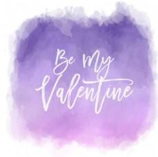 紫色暈染背景