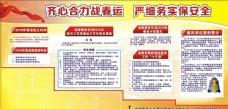 铁路春运宣传栏