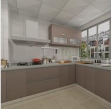 厨卫 橱柜效果图 室内效果图