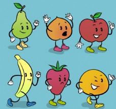 可爱表情 水果