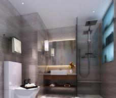 酒店式公寓衛生間模型