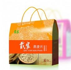 燕麦片包装设计效果图