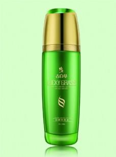 绿色化妆瓶