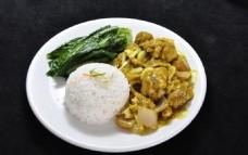 印度咖喱鸡饭