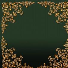 欧式花纹相框模板