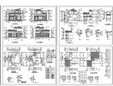 别墅施工设计图