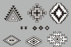 民族风几何纹样