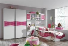 粉色整体家居