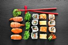 经典日本各种寿司