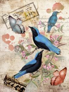 花鸟装饰画