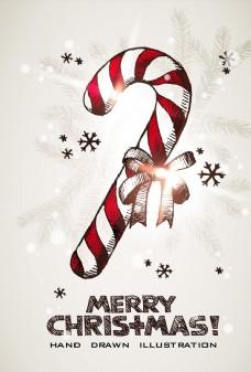 矢量唯美圣诞礼物海报素材