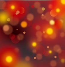 梦幻暖色光晕背景矢量素材
