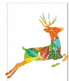 小鹿圖案花型