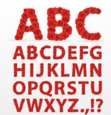 红玫瑰字母