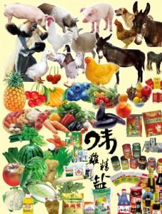 蔬菜水果 調料 禽類