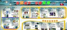 地震宣传知识图板