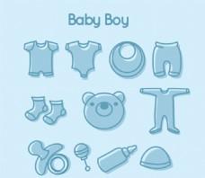 手绘婴儿用品