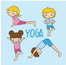 儿瑜伽矢量