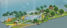 学校环境规划效果图
