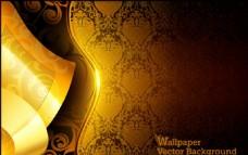 金色欧式古典金边商业创意